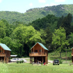 river cabins in Spring