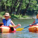 kayaying friends on Shenandoah river