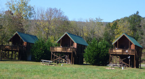 vRiver Log Cabins near Luray VA