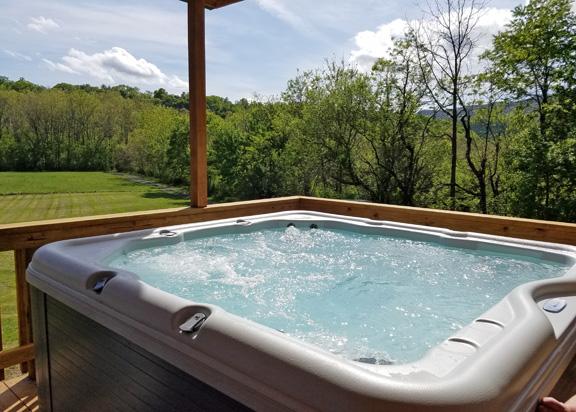 River Lore hot tub