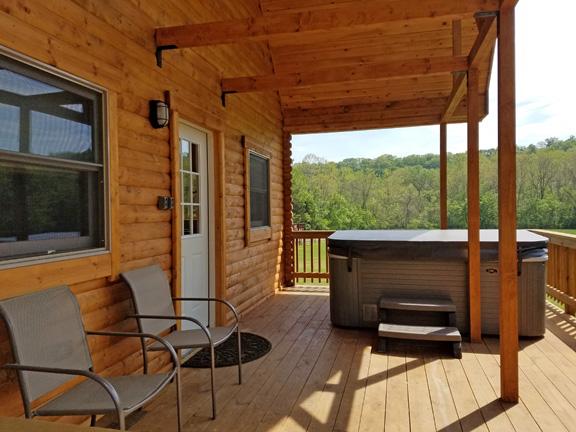 River Lure porch