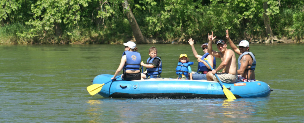 rafting with Shenandoah River Outfitters