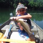 big one! fishing the Shenandoah river