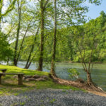 private boat landing on the Shenandoah River