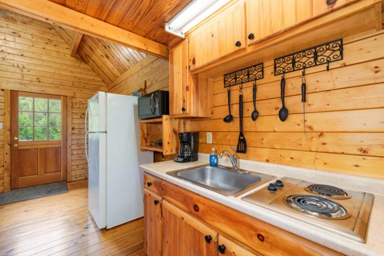 mini-Kitchen in cabins