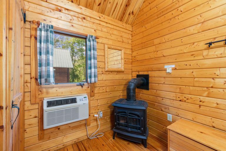 propane stove in queen bedrooms