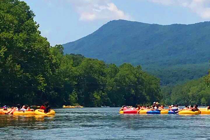 Tubing the Shenandoah River
