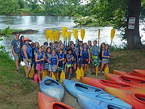 Kayak group at SRO