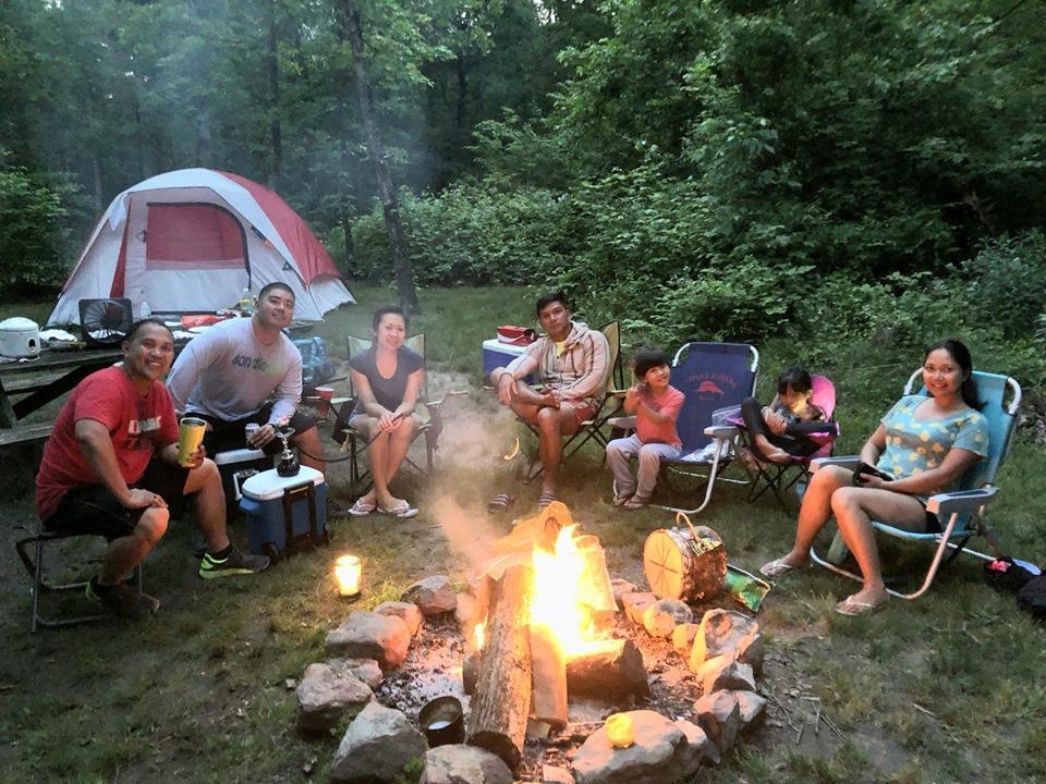 Bonfire at Camp OutBack