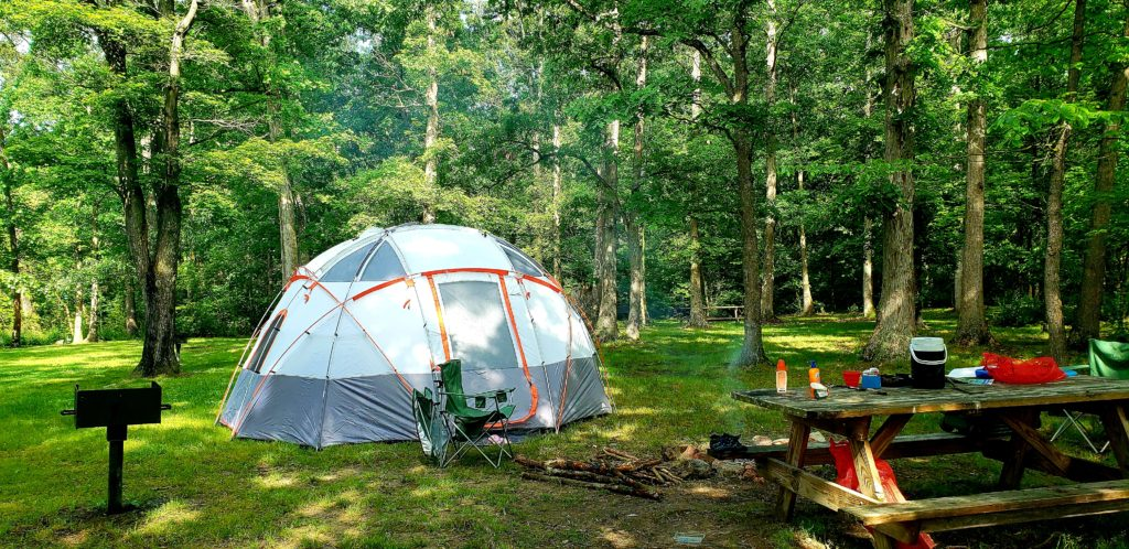 camping at Camp OutBack